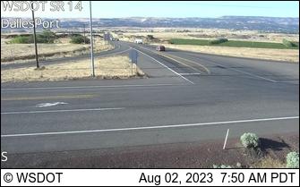 WSDOT SR-14/Dallesport, WA Webcam