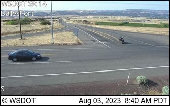 SR 14 at MP 83.5: Dallesport