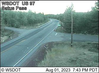 Satus Pass on US 97 @ MP 27