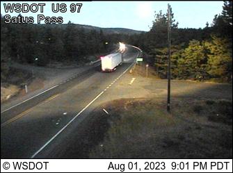 US 97 at MP 27.1: Satus Pass