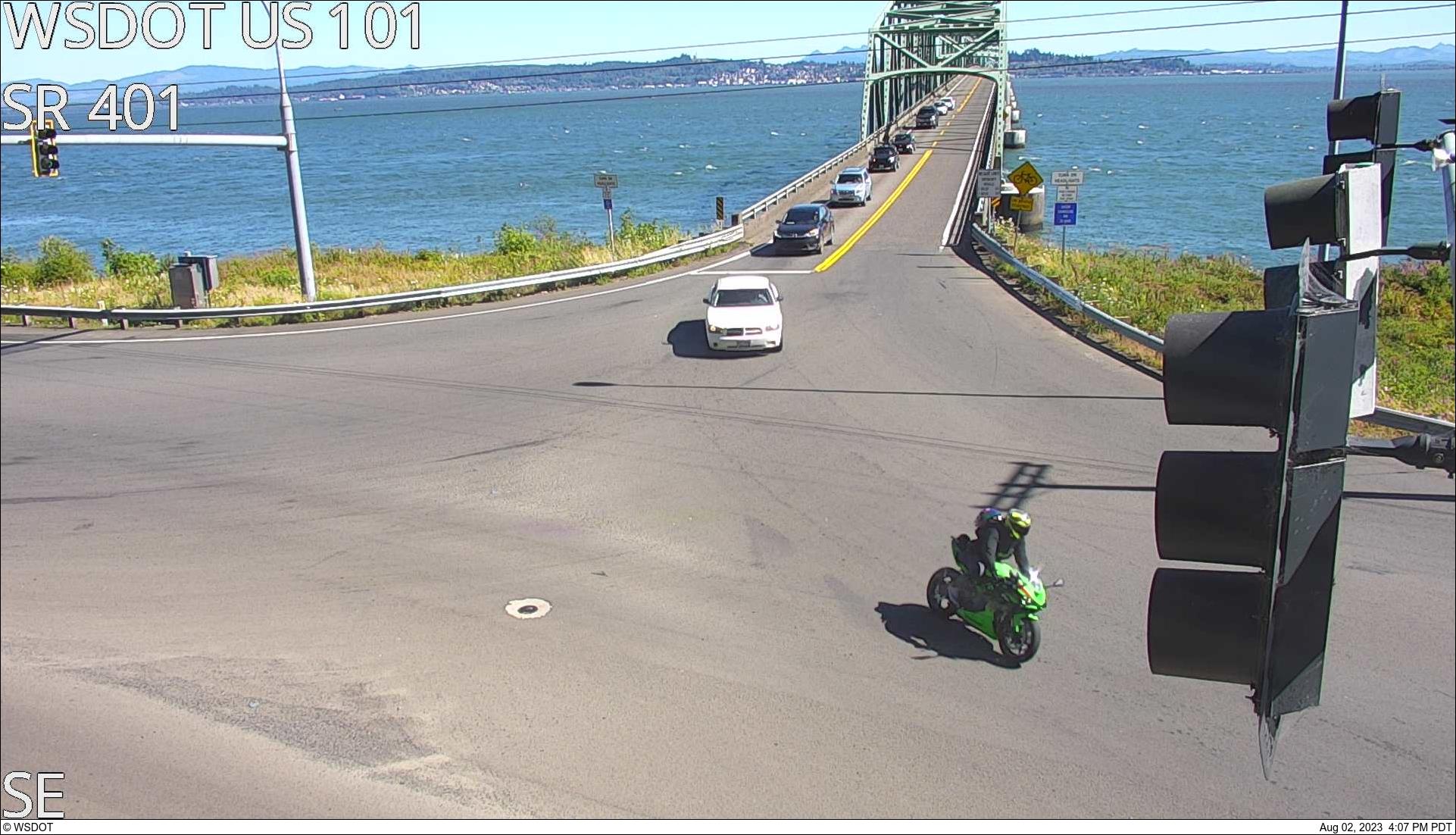 US 101 at MP 0.5: Astoria-Megler Bridge