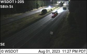 I-205 at MP 31.5: 58th St