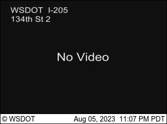 I-205 at MP 36.8: 134th St Camera 2