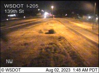 I-205 at MP 37: 139th St