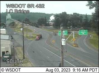 SR 433 at MP 0.9: Lewis and Clark Bridge