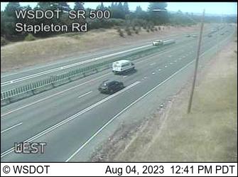 SR 500 at MP 2.4: Stapleton Rd