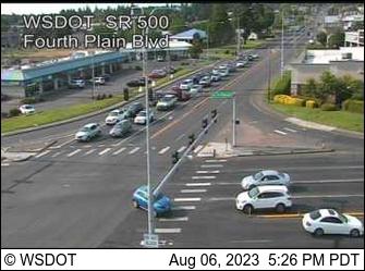 SR 500: Fourth Plain Blvd (SR 503)