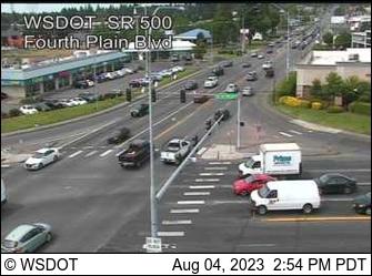 SR 500 at MP 5.9: Fourth Plain Blvd (SR 503)