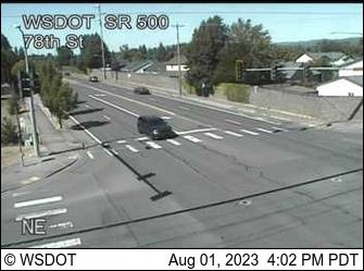 SR 500 at MP 9.6: 78th St