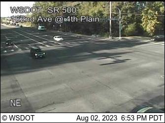 SR 500 at MP 10.1: 162nd Ave & 4th Plain
