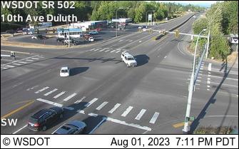 SR 502 at MP 0.6: 10th Ave