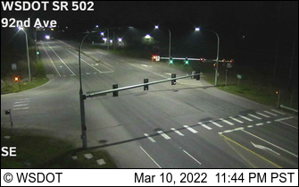 SR 502 at MP 6: NE 92nd Ave