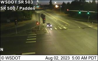 SR 503 at MP 1: SR 500 Padden