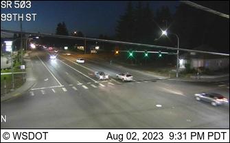 SR 503 at MP 1.8: 99th St