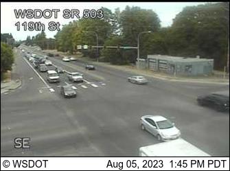 SR 503 at MP 2.7: 119th St