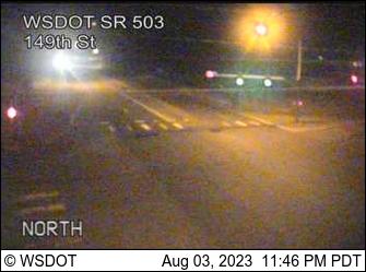SR 503 at MP 4.3: 149th St