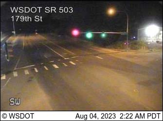SR 503: 179th St