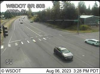 SR 503 at MP 6: 179th St