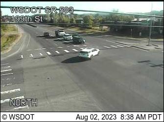 SR 503 at MP 7: 199th Ave