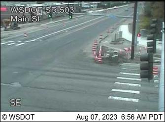 SR 503 at MP 8.1: Main St