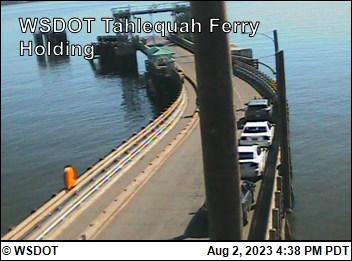 f294f603ef2f WSDOT - WSF Tahlequah Ferry Holding - Tacoma Washington Cameras