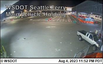 Bainbridge Island Ferry Holding in Seattle