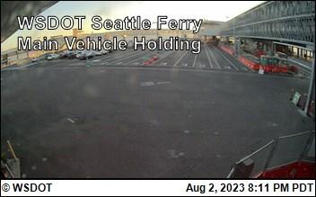 WSF Seattle Ferry Main Vehicle Holding