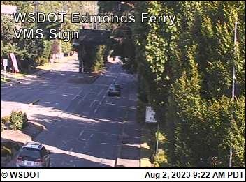 WSF Edmonds VMS Sign