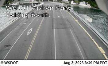 WSF Vashon Ferry Holding (South)